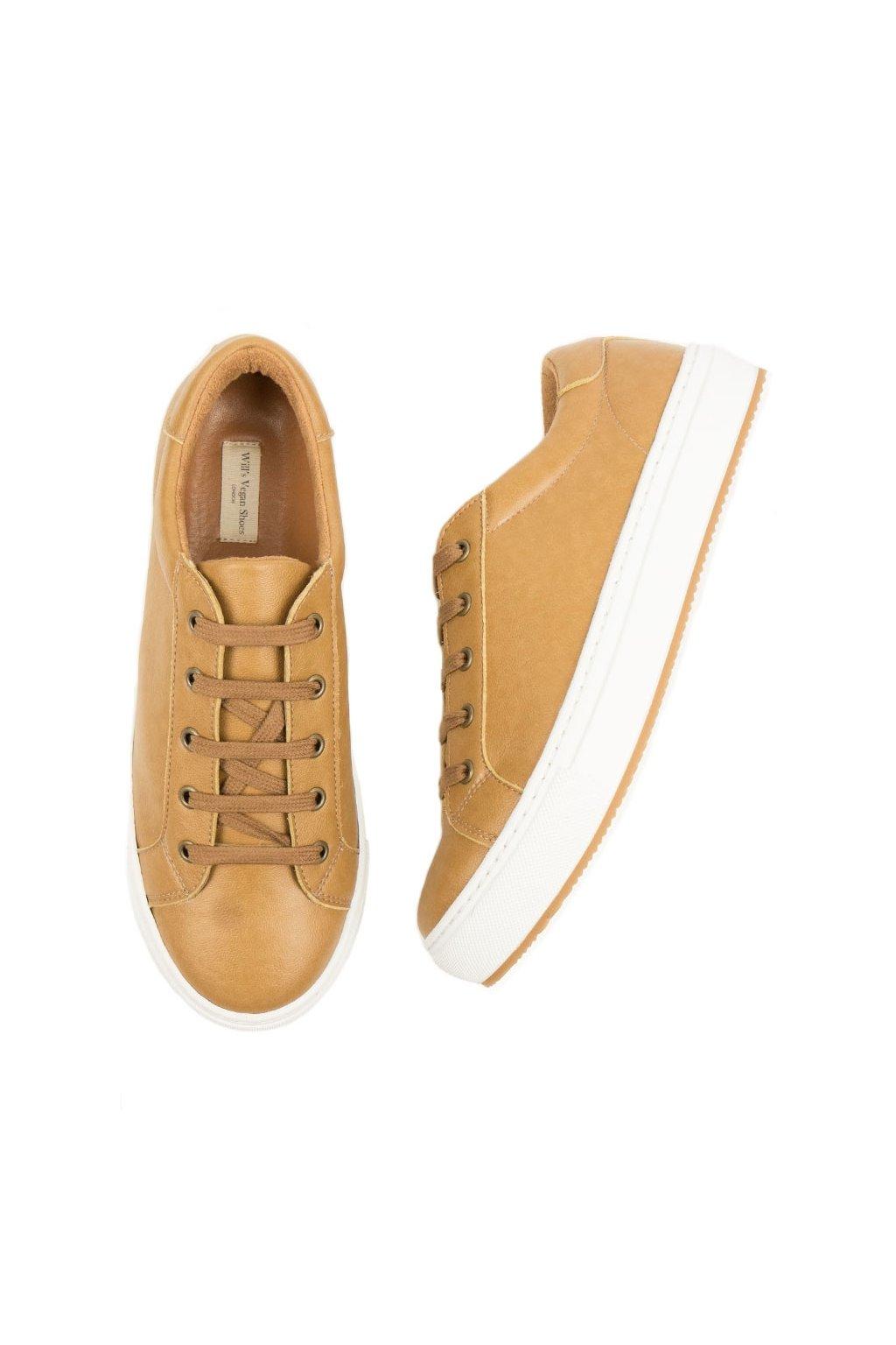 """Dámske hnedé tenisky z biooleja """"Smart Sneakers"""""""
