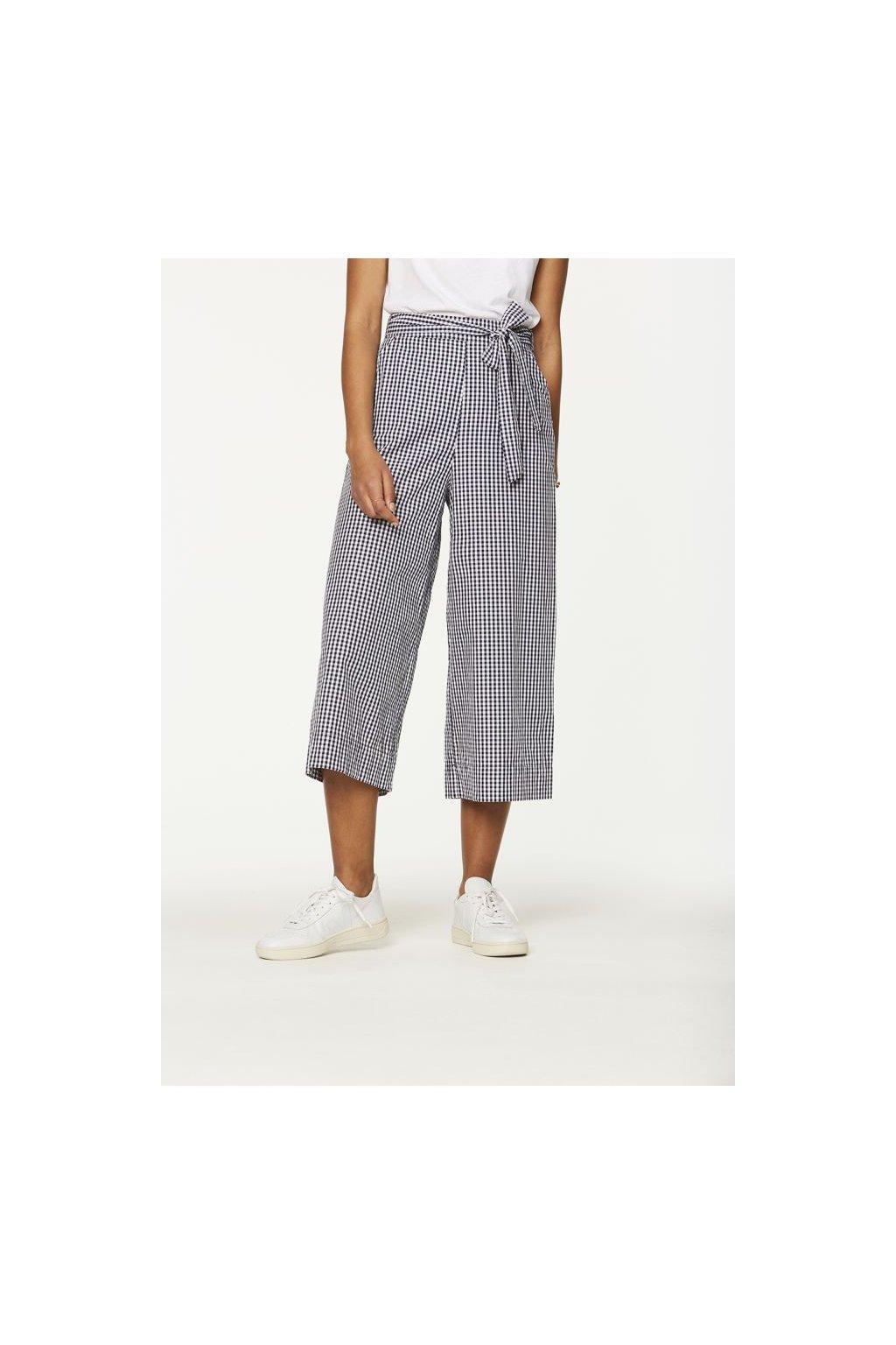 """Dámské kostkované culotte kalhoty """"Miray Vichy"""" (Velikost L)"""