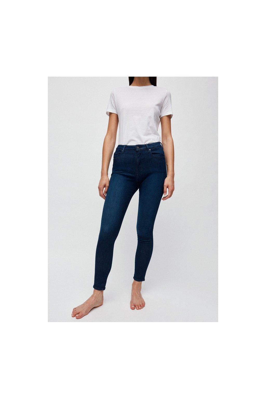 """Dámské modré džíny """"TILLAA X STRETCH sea blue"""" (Velikost 25/32)"""