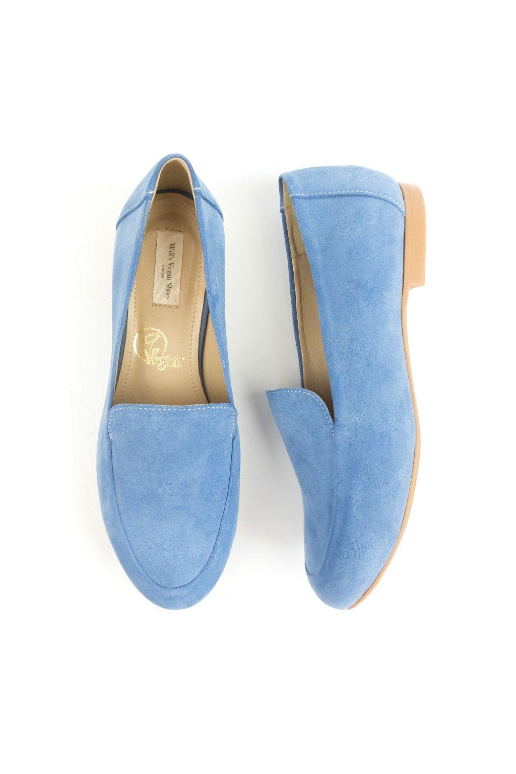 """Dámske modré mokasíny """"Loafers Blue"""""""