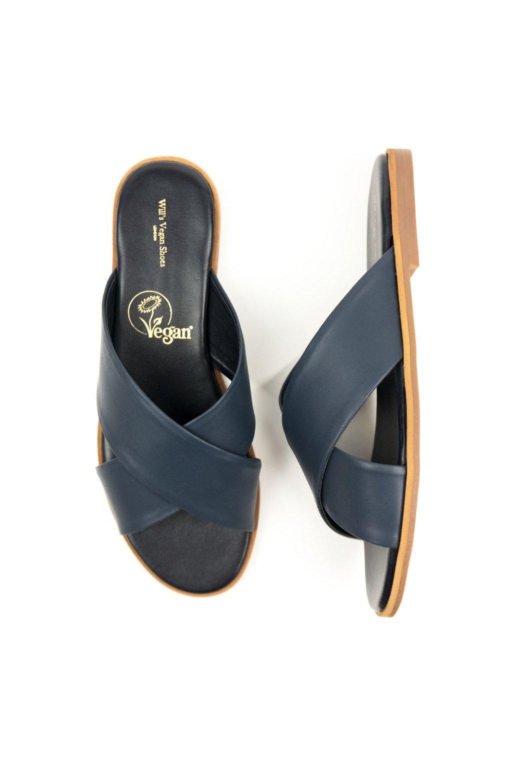 """Dámske modré sandále """"Slides Blue"""""""