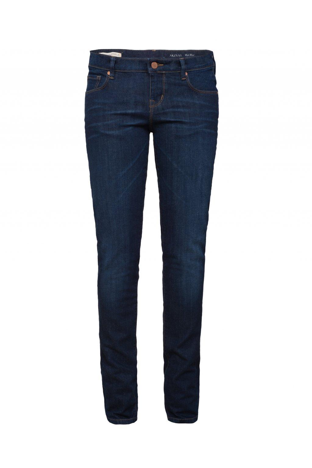 """Dámské modré slim džíny z biobavlny """"Tilly"""" (Velikost 26/32)"""