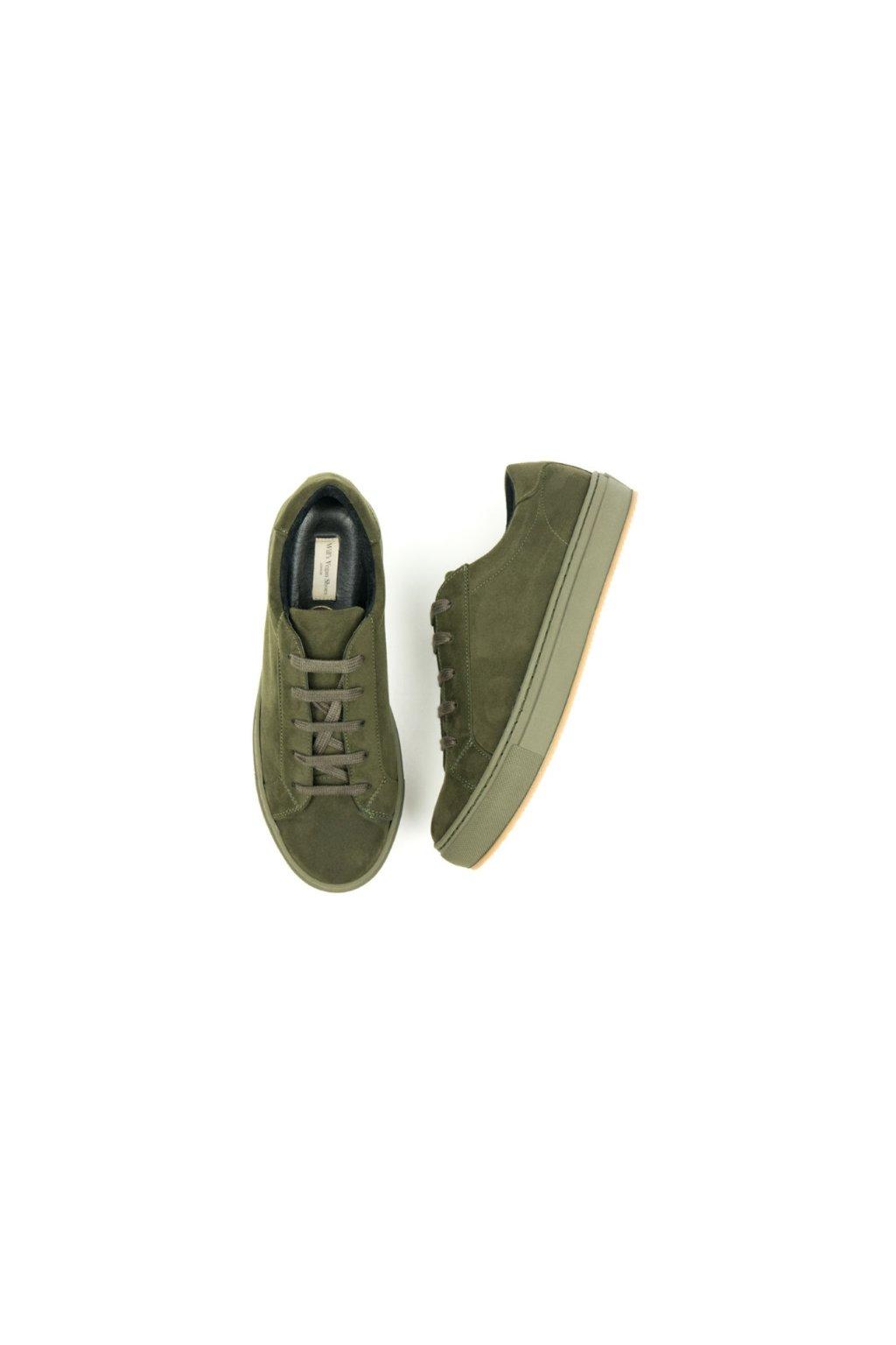 """Dámske olivové tenisky """"Colour Sneakers Olive"""""""