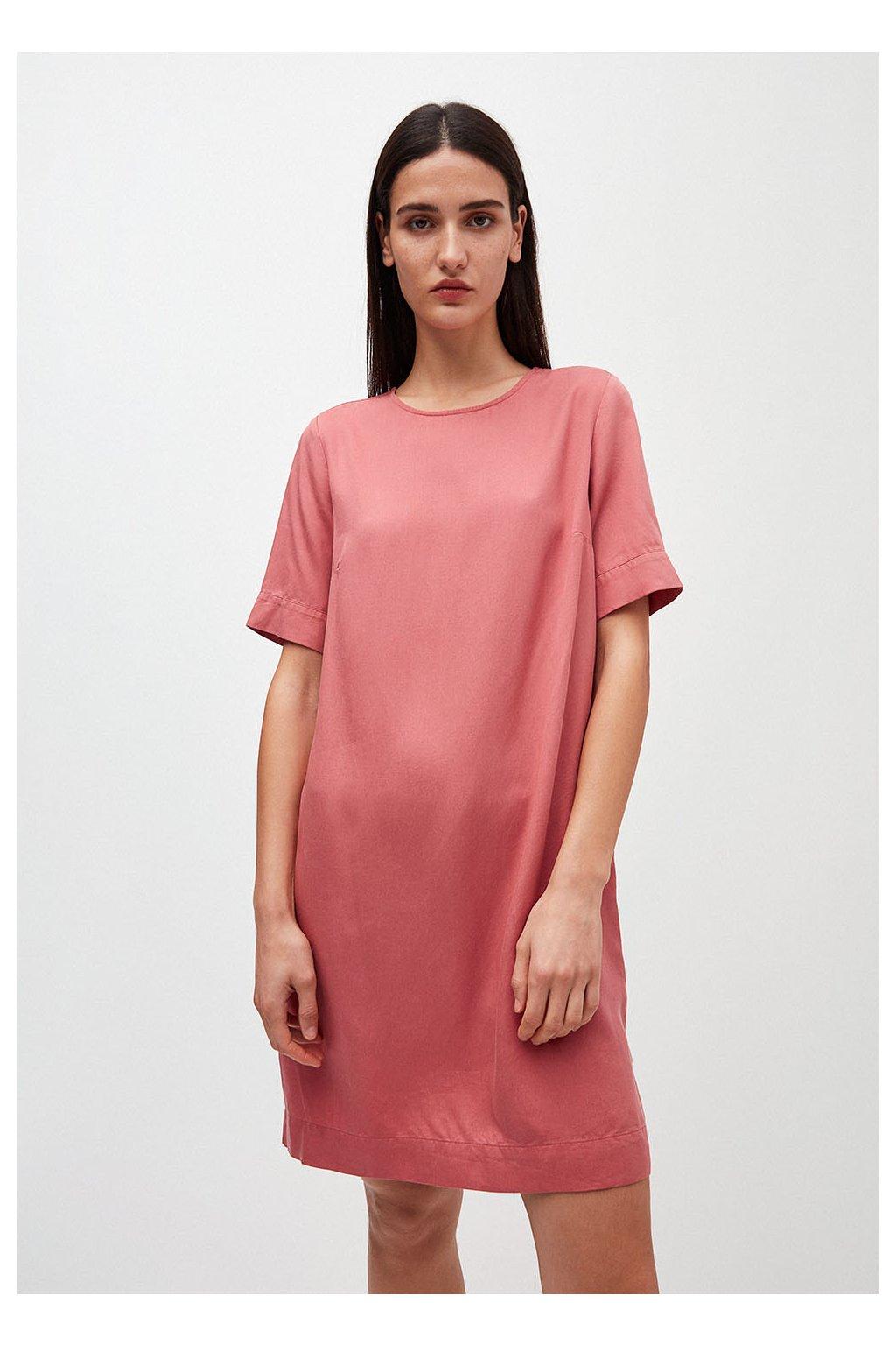 "Dámské růžové šaty ""MARGITAA cinnamon rose"" (Velikost L)"