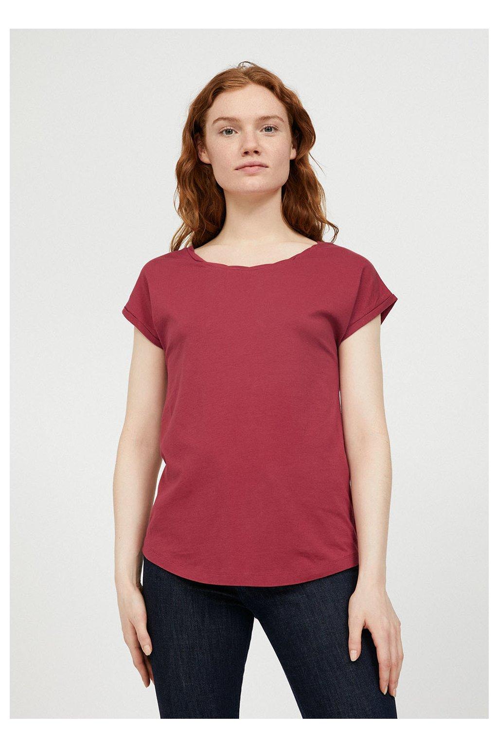 """Dámské růžové tričko """"LAALE rosewood"""" (Velikost L)"""