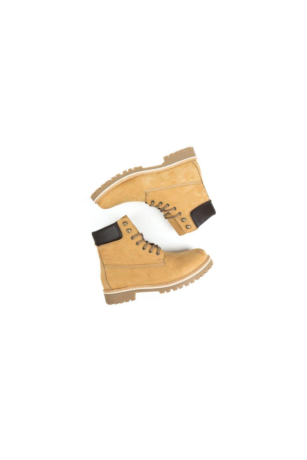 """Dámske členkové topánky """"Dock Boots Tan"""""""