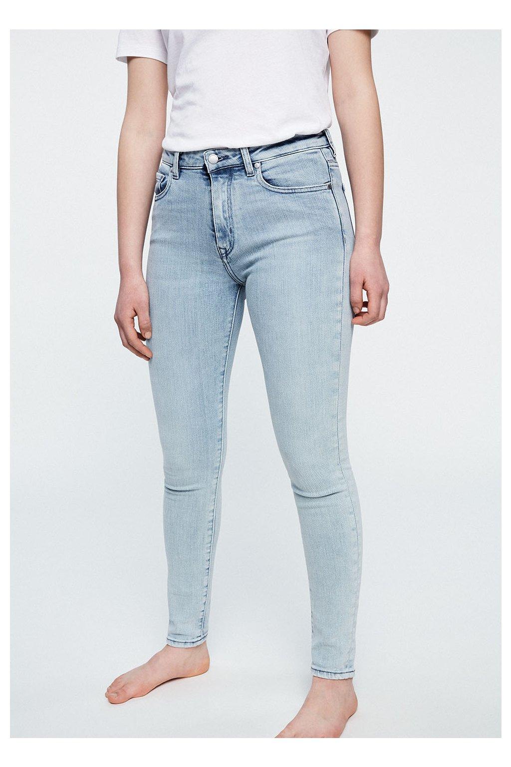 """Dámské světlé slim fit džíny """"TILLAA FADED BLUE"""" (Velikost 25/32)"""