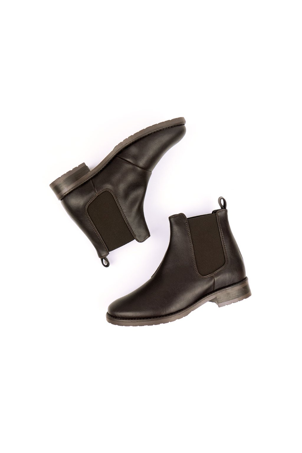 """Dámske tmavohnedé členkové topánky """"Smart Chelsea Boots"""""""