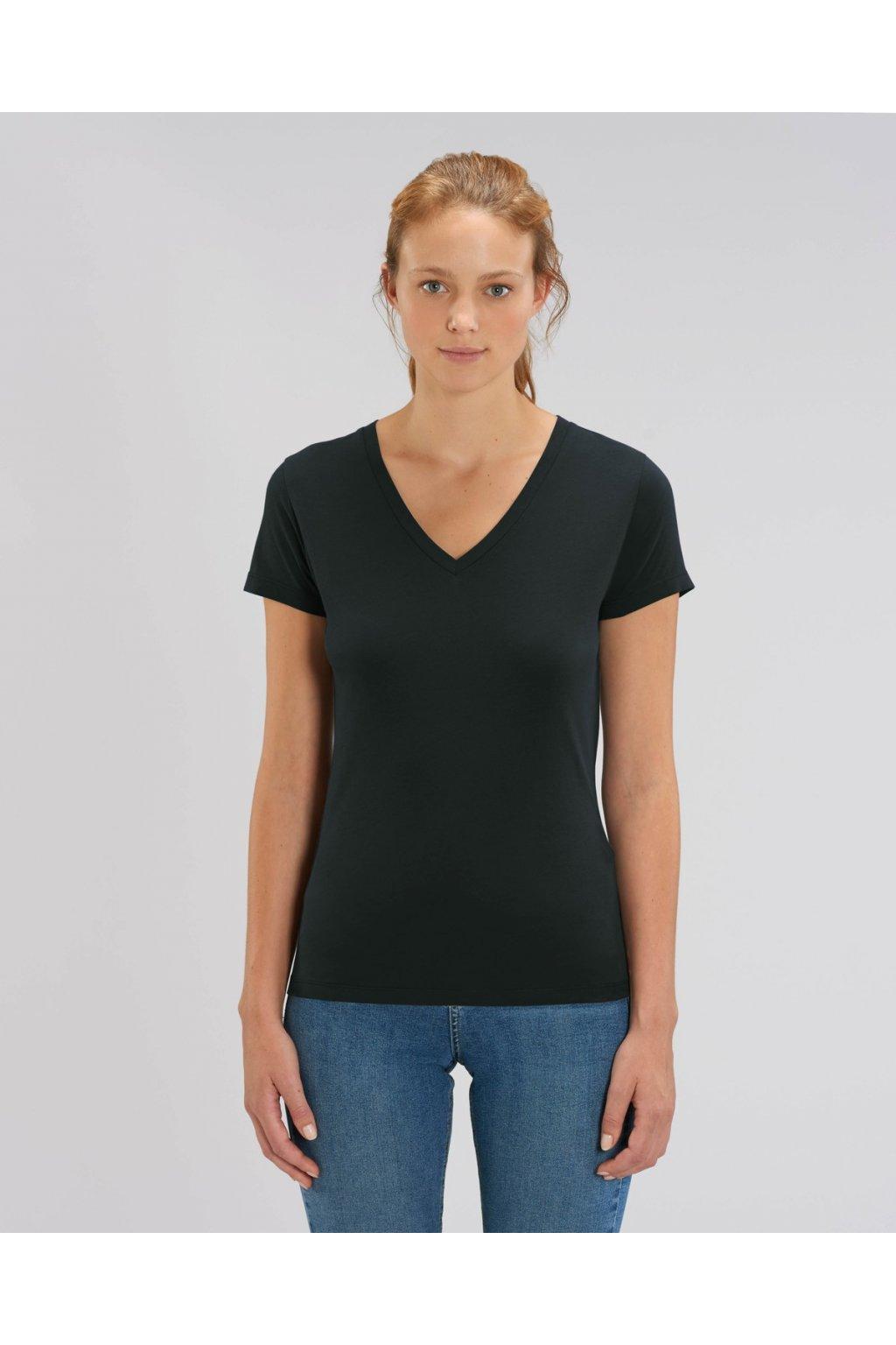 """Dámské tričko """"Stella Evoker"""" černé (Barva Černá, Velikost XS)"""