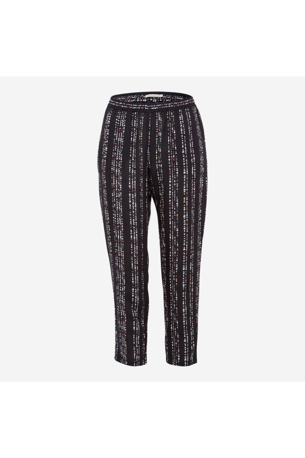 """Dámské vzorované kalhoty """"Vera Traces"""" (Velikost M)"""