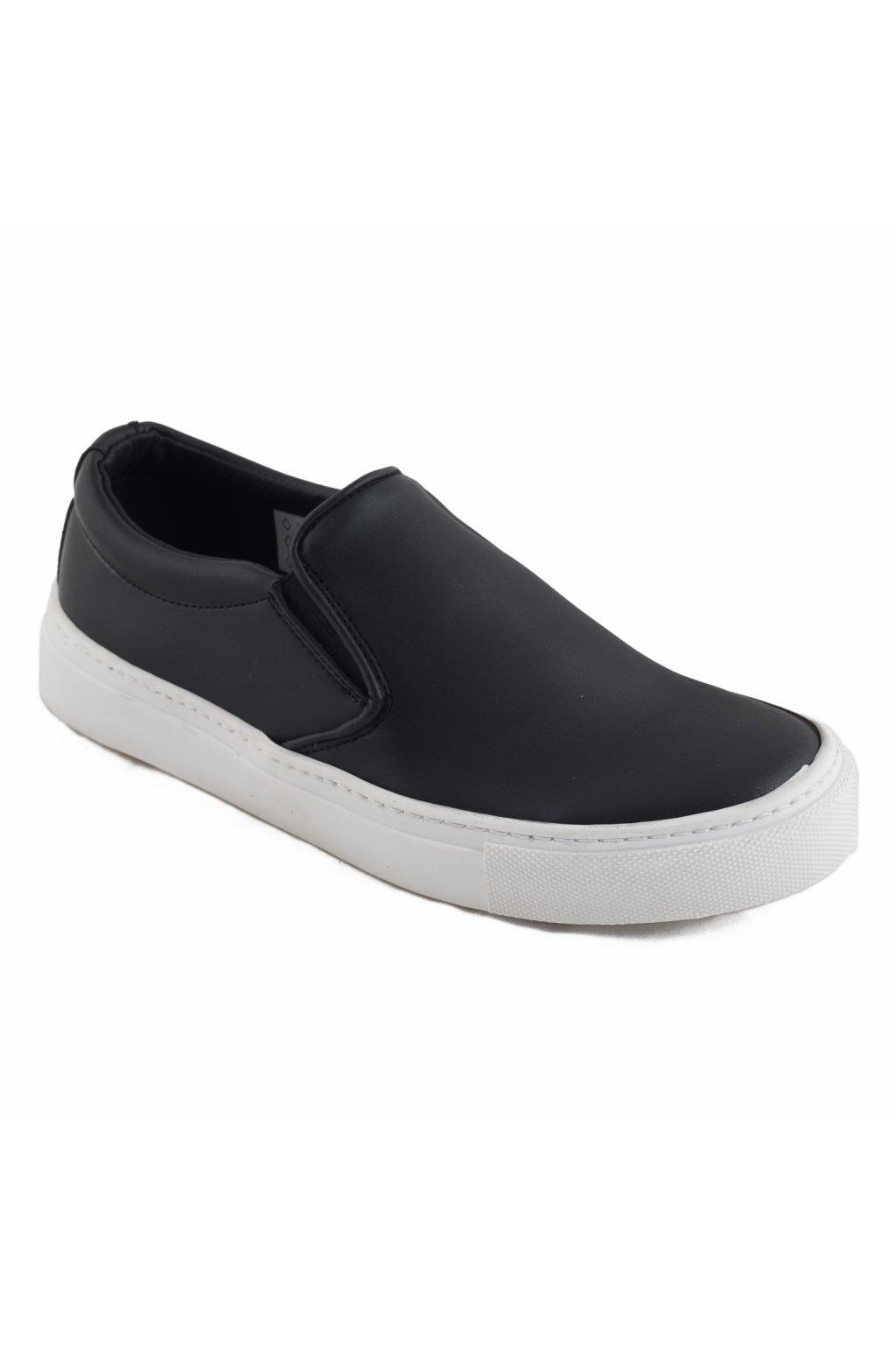 "Čierne loafersky ""Bare Micro"""