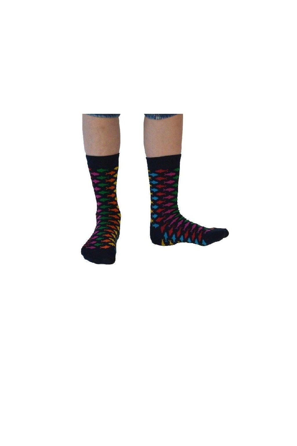"Dětské ponožky z biobavlny ""Strömlund"" (Velikost 15-18)"