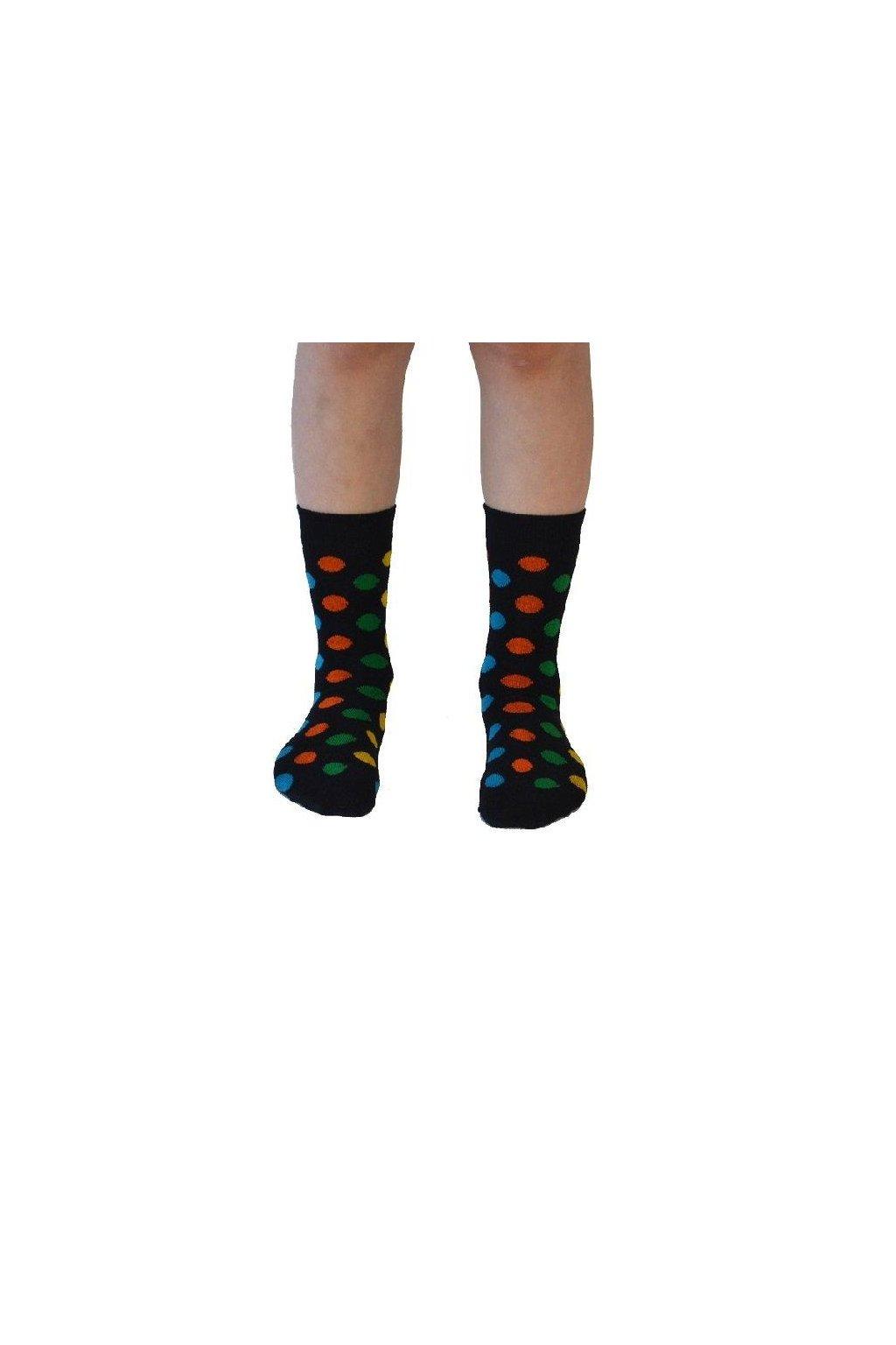 "Dětské ponožky z biobavlny ""Sundberg"" (Velikost 19-22)"