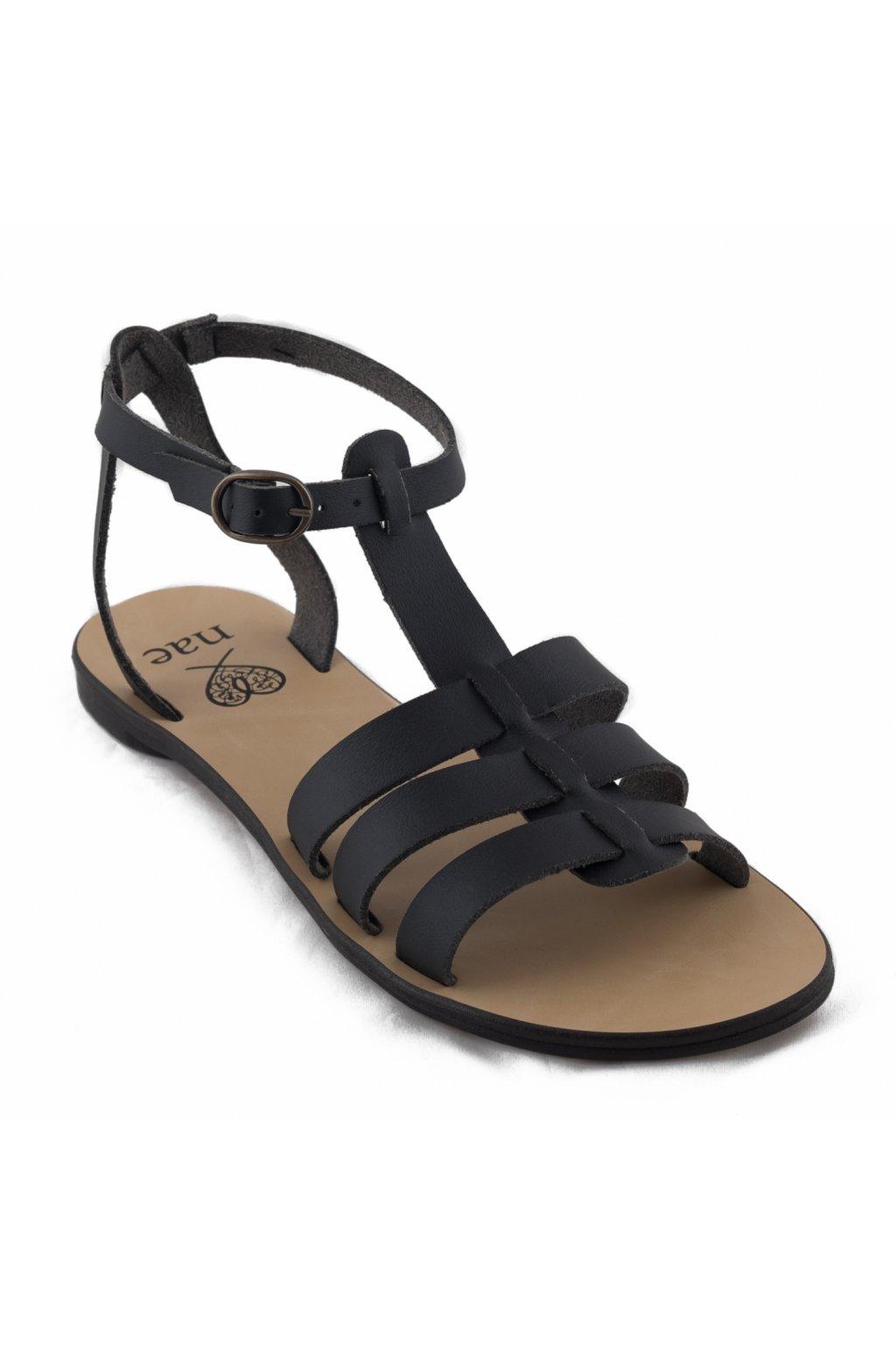 "Dámske čierne sandálky ""Doria"""