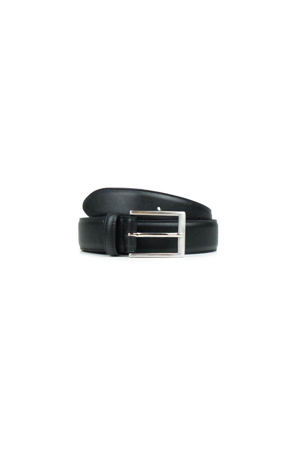 "Čierny opasok "" Classic 3cm Belt Black"""