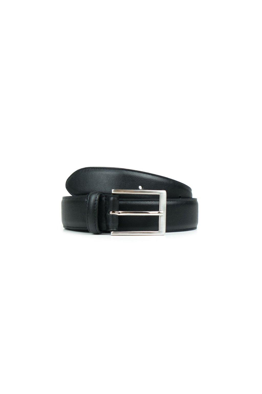 "Čierny opasok ""Classic 3,5cm Belt Black"""