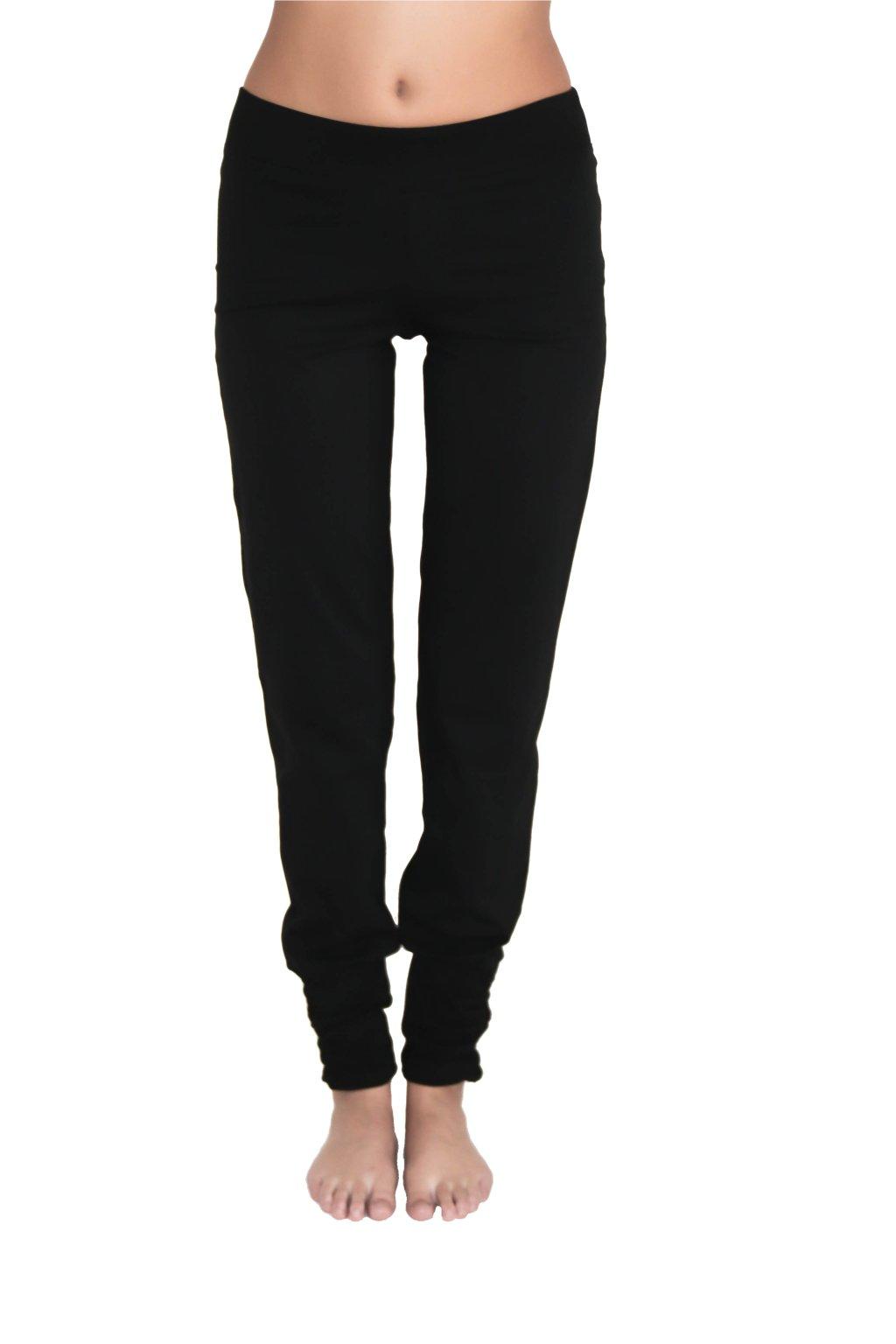 Kalhoty na jógu - černé (Velikost L)