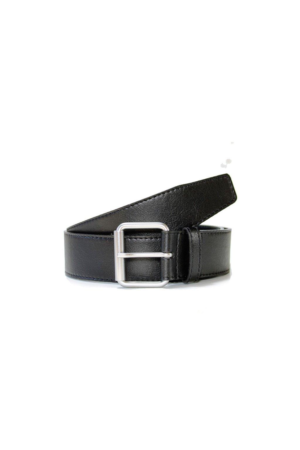"""Čierny opasok 4 cm """"Jeans Belt Black"""""""