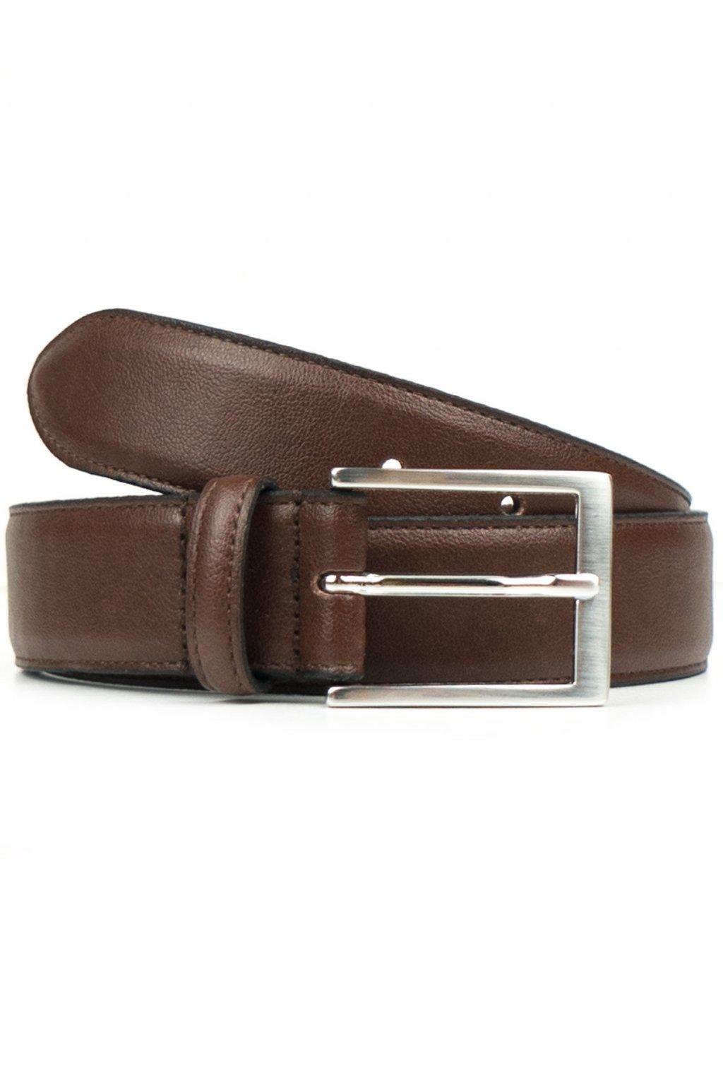 "Hnedý opasok ""Classic 3,5cm Belt Chestnut"""