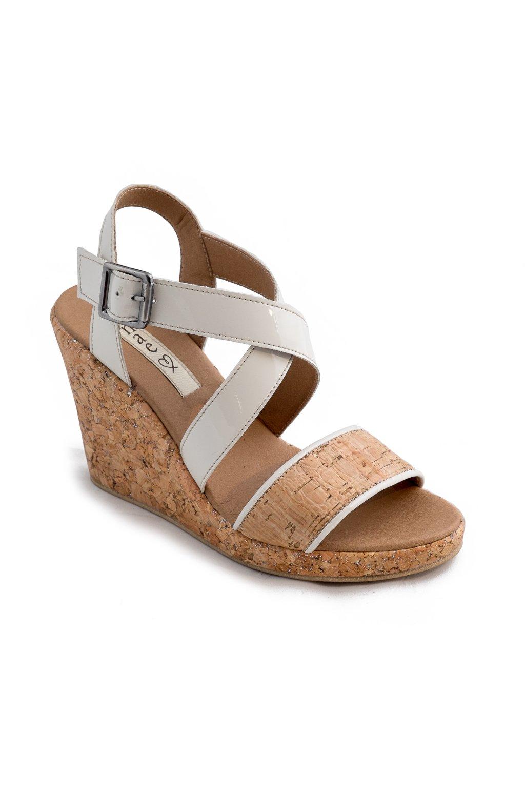 """Korkové sandálky na platforme """"Cleo"""""""