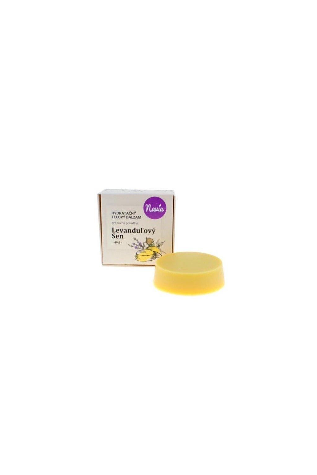 Kvitok Hydratačný telový balzam Levanduľový sen BIO (40 g)