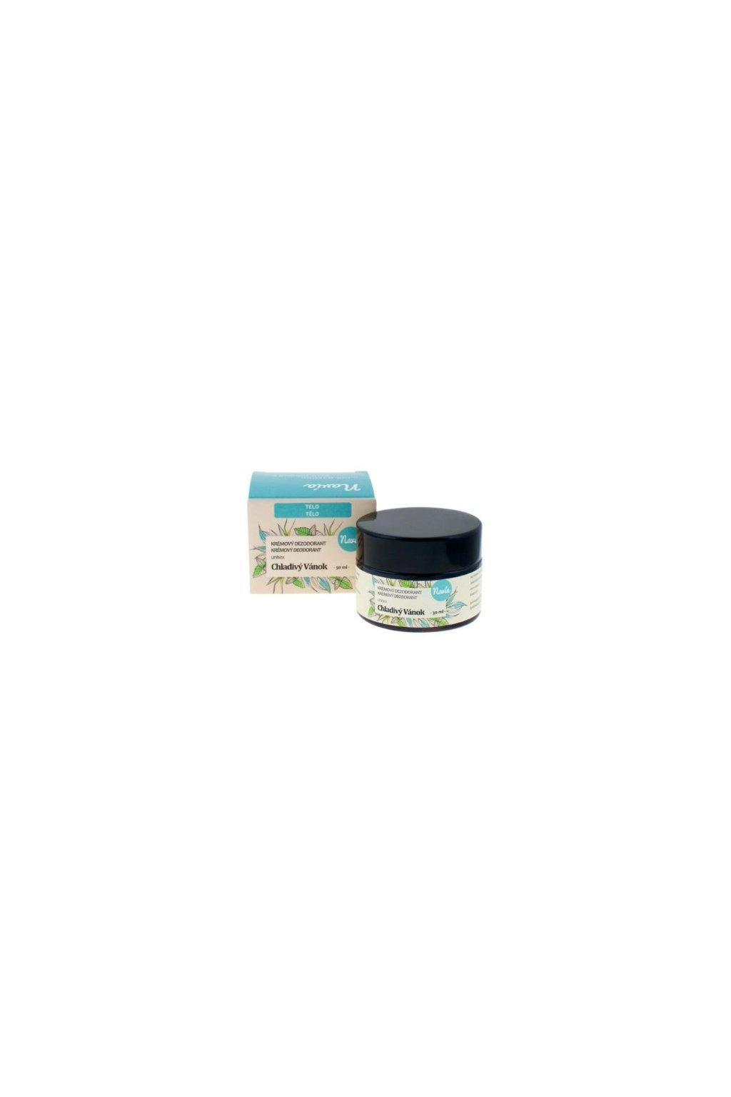 Kvitok Krémový dezodorant Chladivý vánok (30 ml)