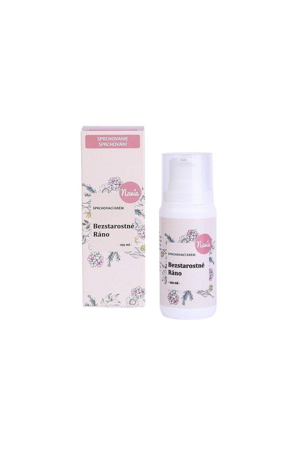 Kvitok Sprchovací krém Bezstarostné ráno (100 ml)