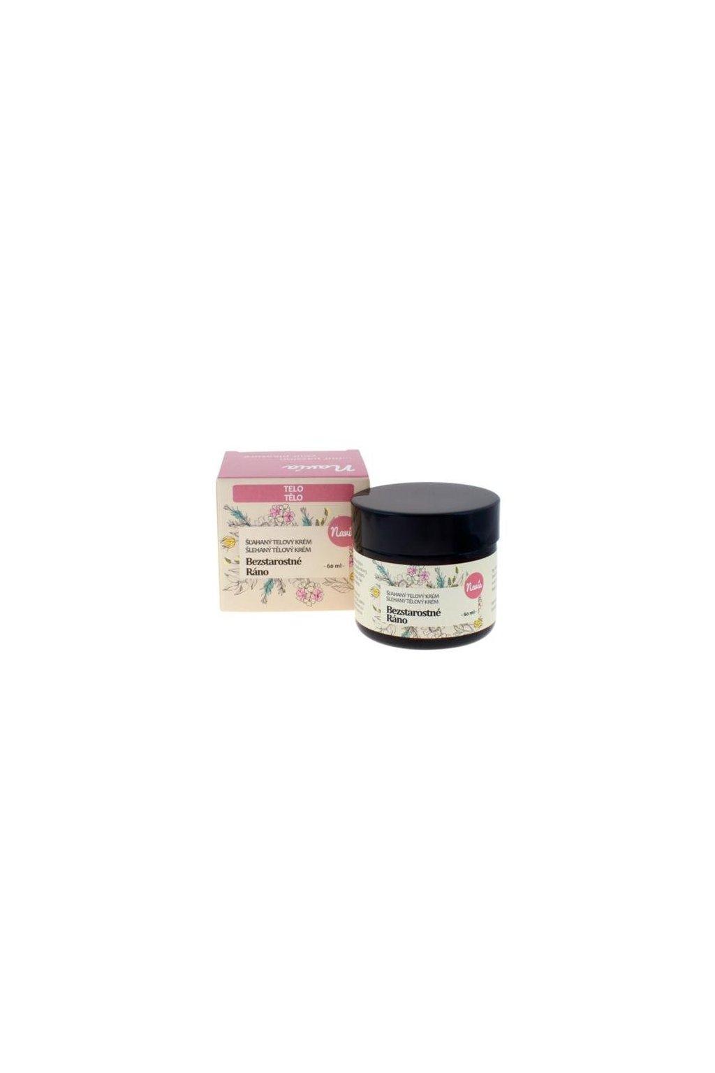 Kvitok Šľahaný telový krém Bezstarostné ráno BIO (60 ml)