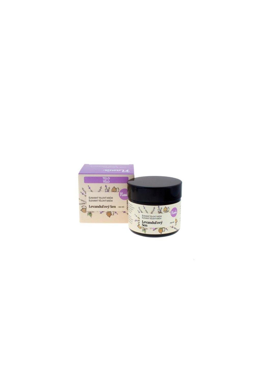 Kvitok Šľahaný telový krém Levanduľový sen BIO (60 ml)
