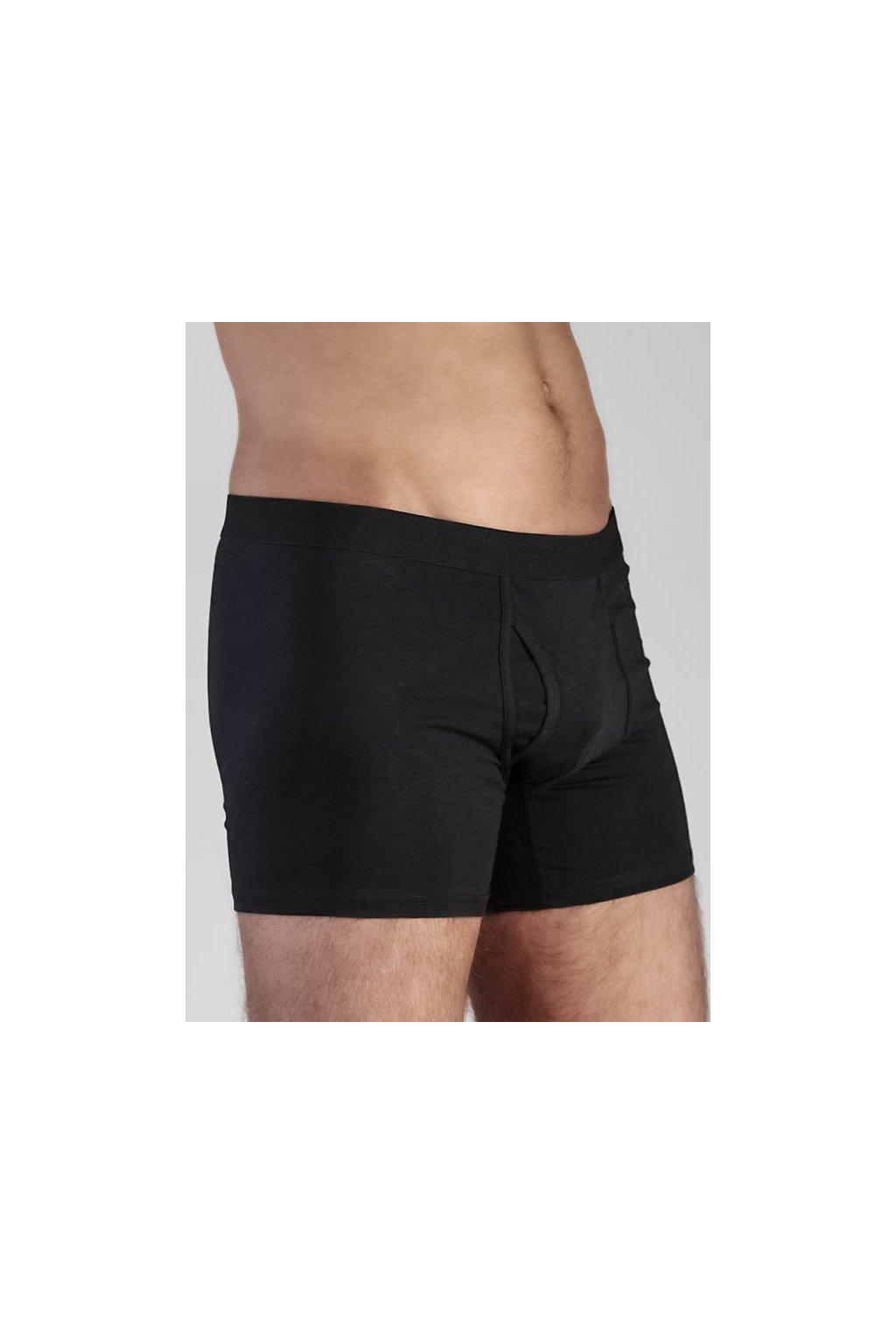 """Pánské černé boxerky """"Boxer Shorts"""" (Velikost L)"""