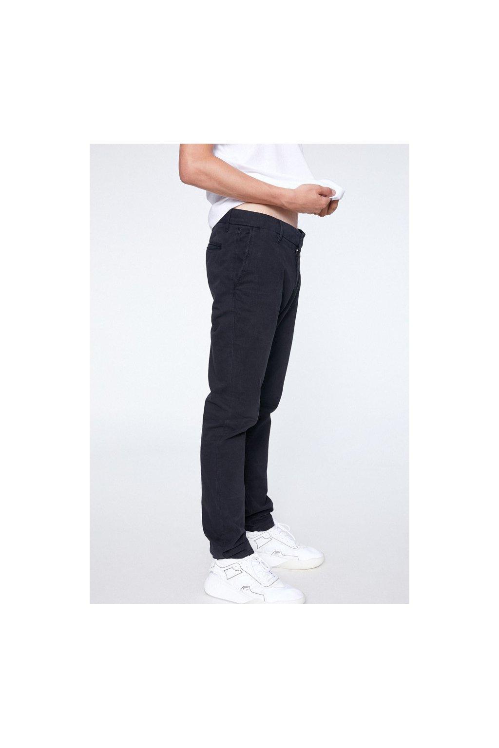 """Pánské černé kalhoty z biobavlny """"EDVAAN BLACK"""" (Velikost 29/32)"""