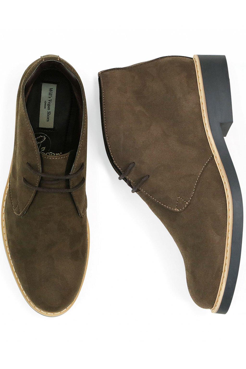 """Pánske hnedé členkové topánky """"Signature Desert Boots"""""""