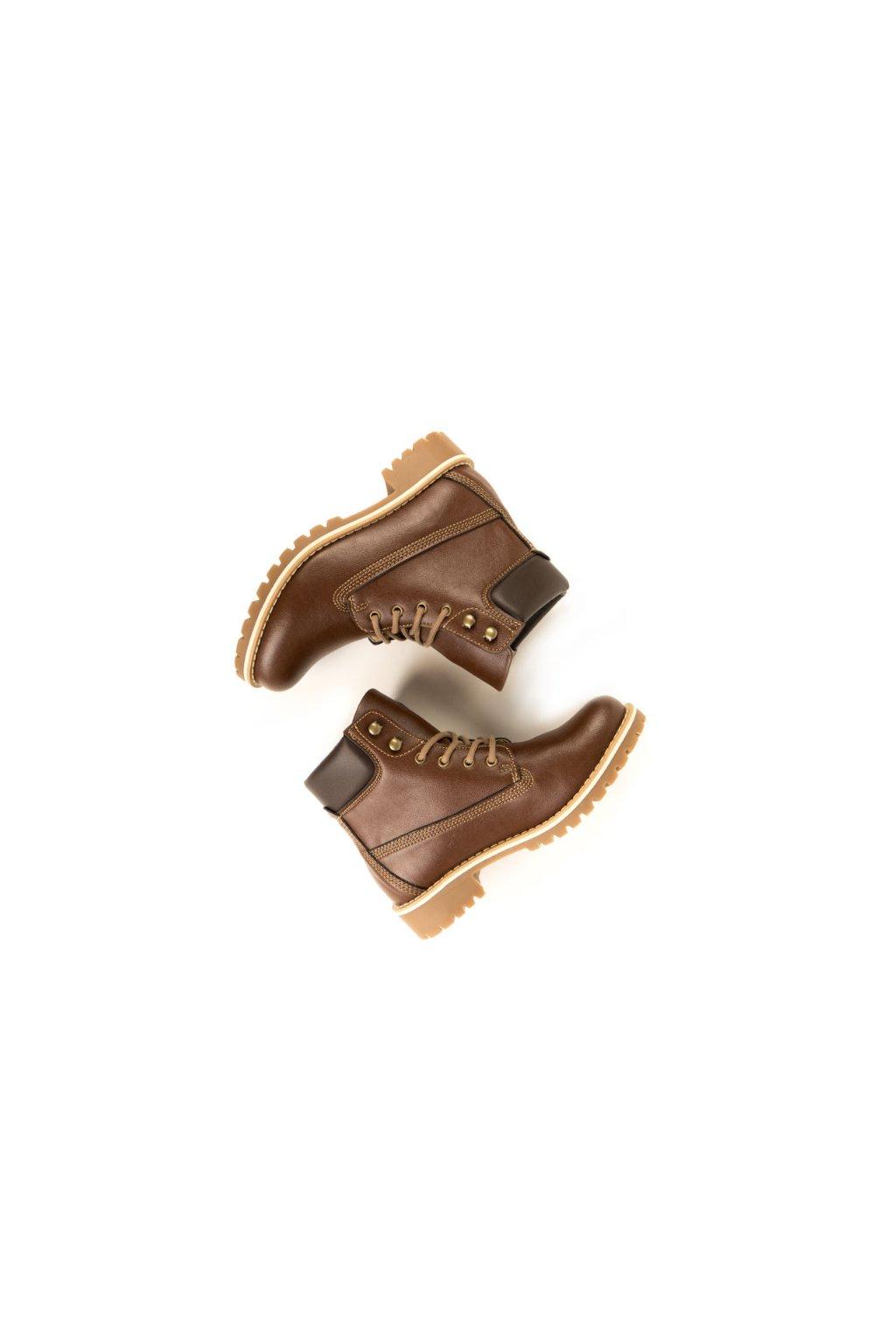 """Pánske členkové topánky """"Dock Boots Chestnut"""""""