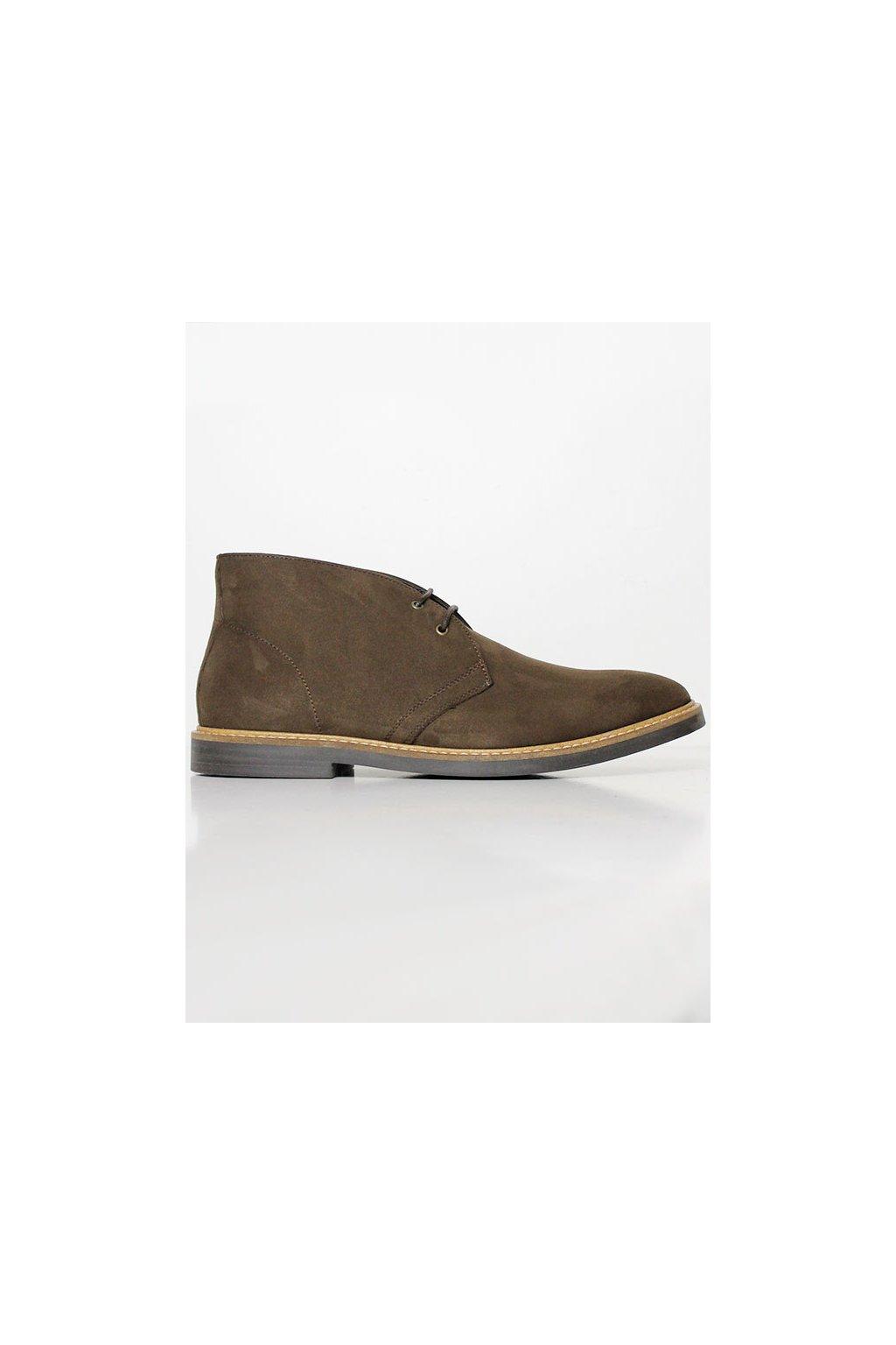 "Pánske členkové topánky ""Signature Deserts Brown"" - starý model"