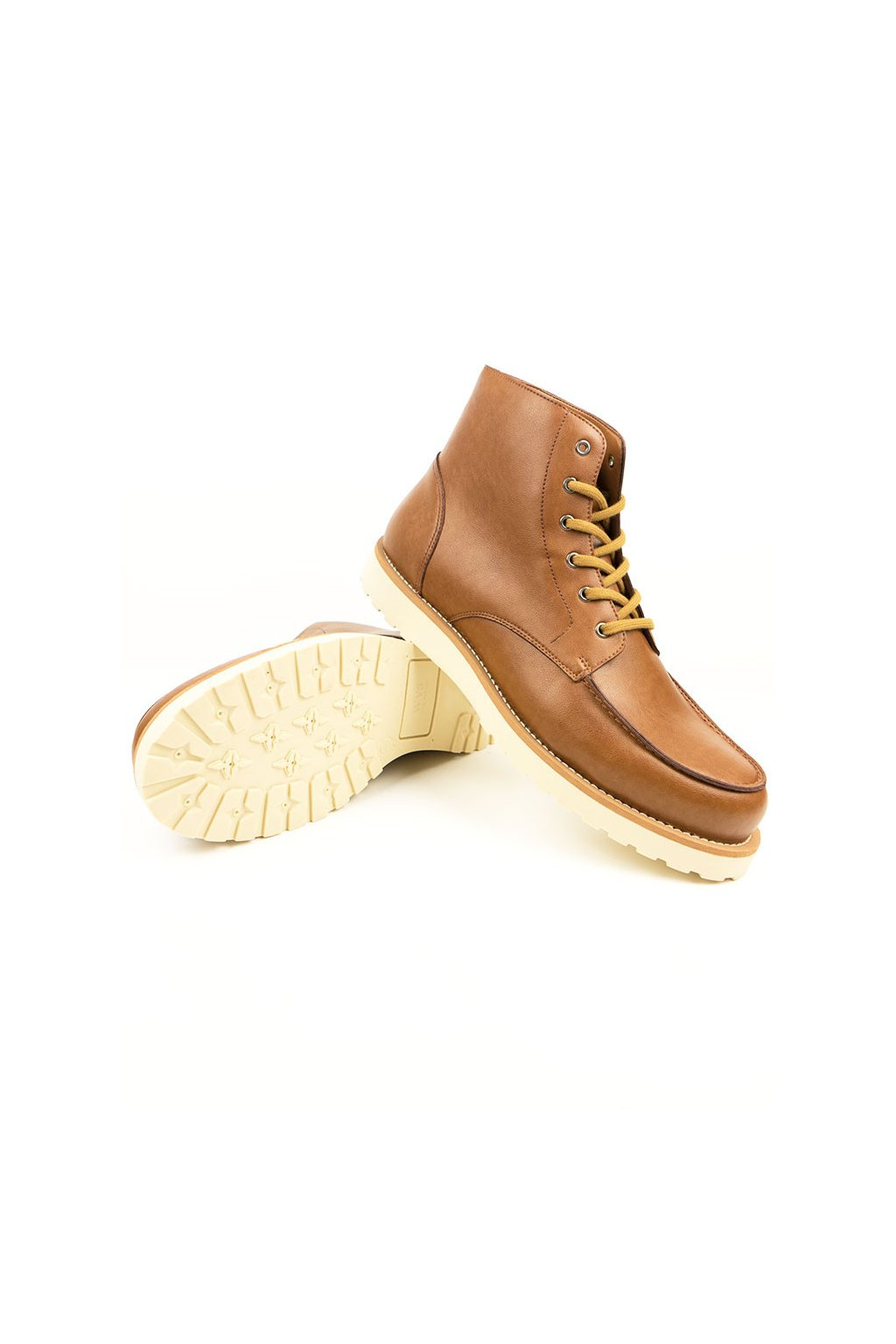 """Pánske hnedé členkové topánky """"Low Rig Boots"""""""