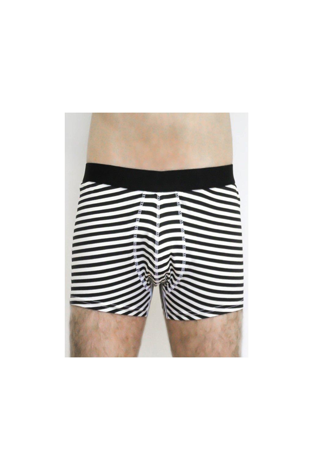 """Pánské proužkaté boxerky """"Trunk Shorts Stripes"""" (Velikost L)"""