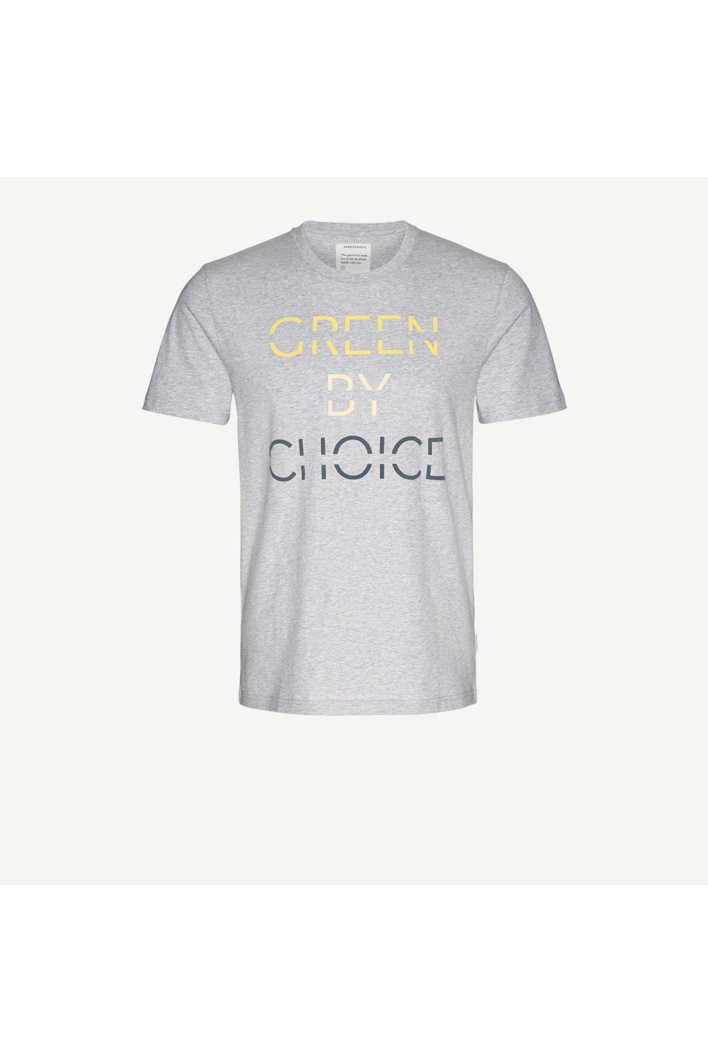 """Pánské světle šedé tričko """"James Green"""" (Velikost L)"""