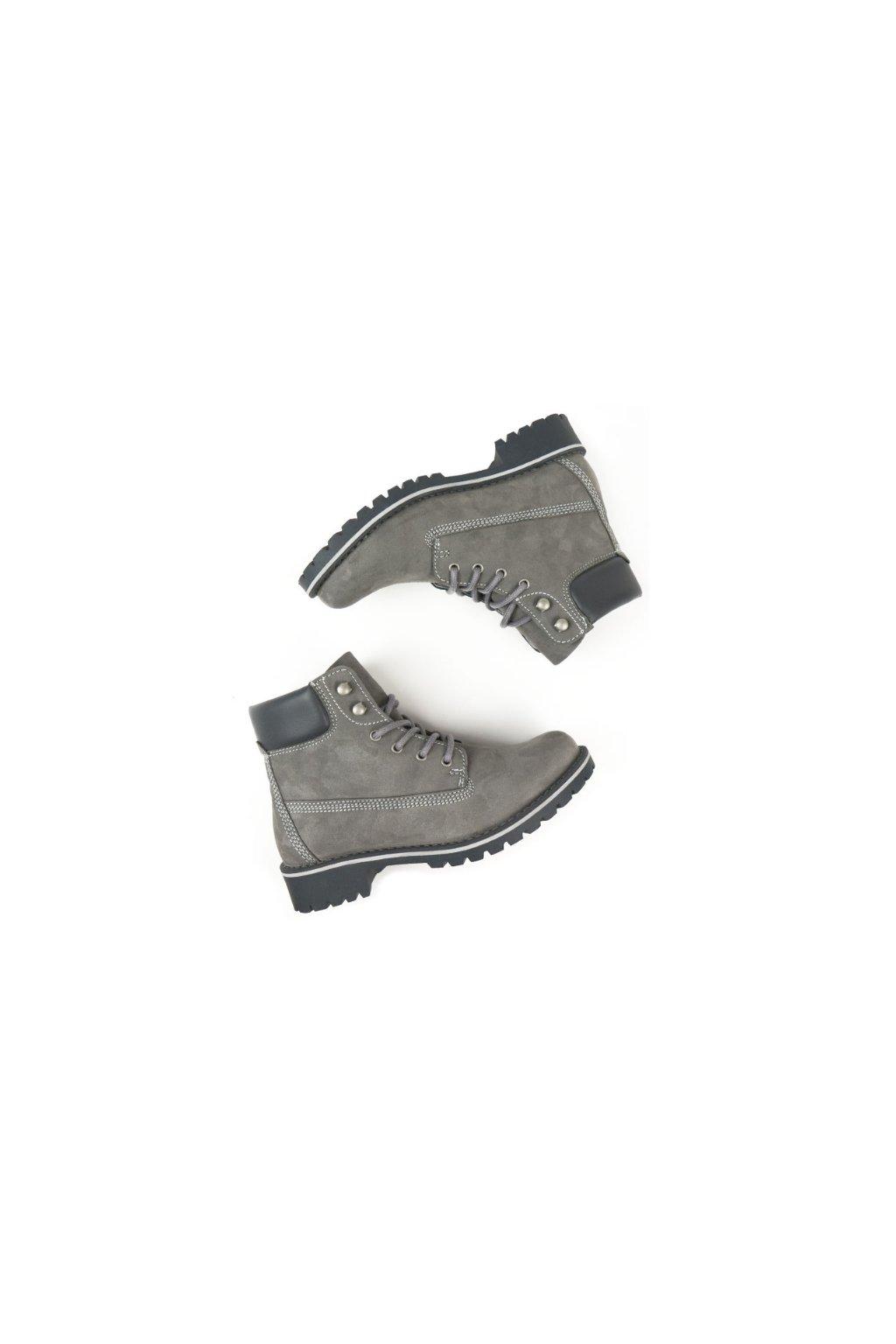"""Pánske členkové topánky """"Dock Boots Grey"""""""