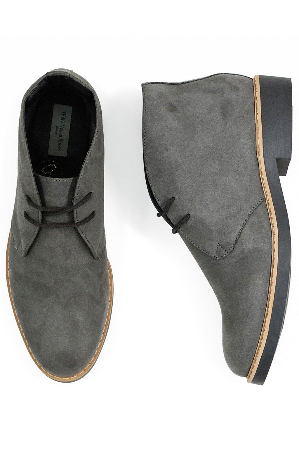 """Pánske šedé členkové topánky """"Signature Desert Boots"""""""