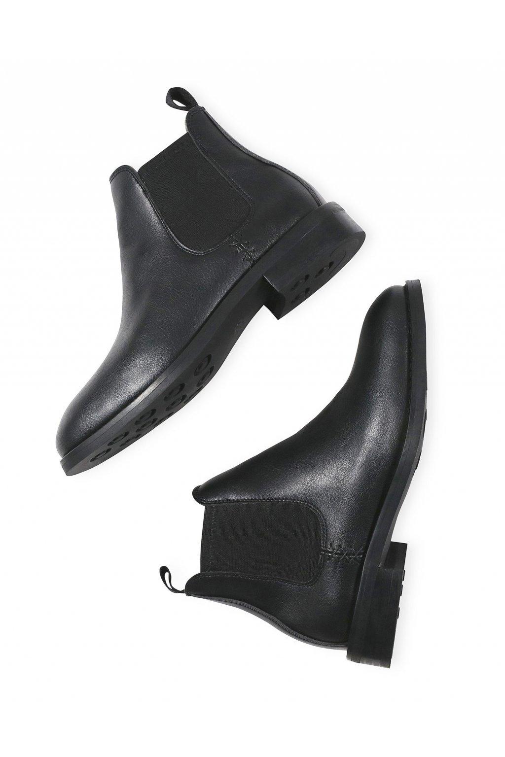 """Pánske vodeodolné čierne členkové topánky """"Waterproof Chelsea Boots"""""""