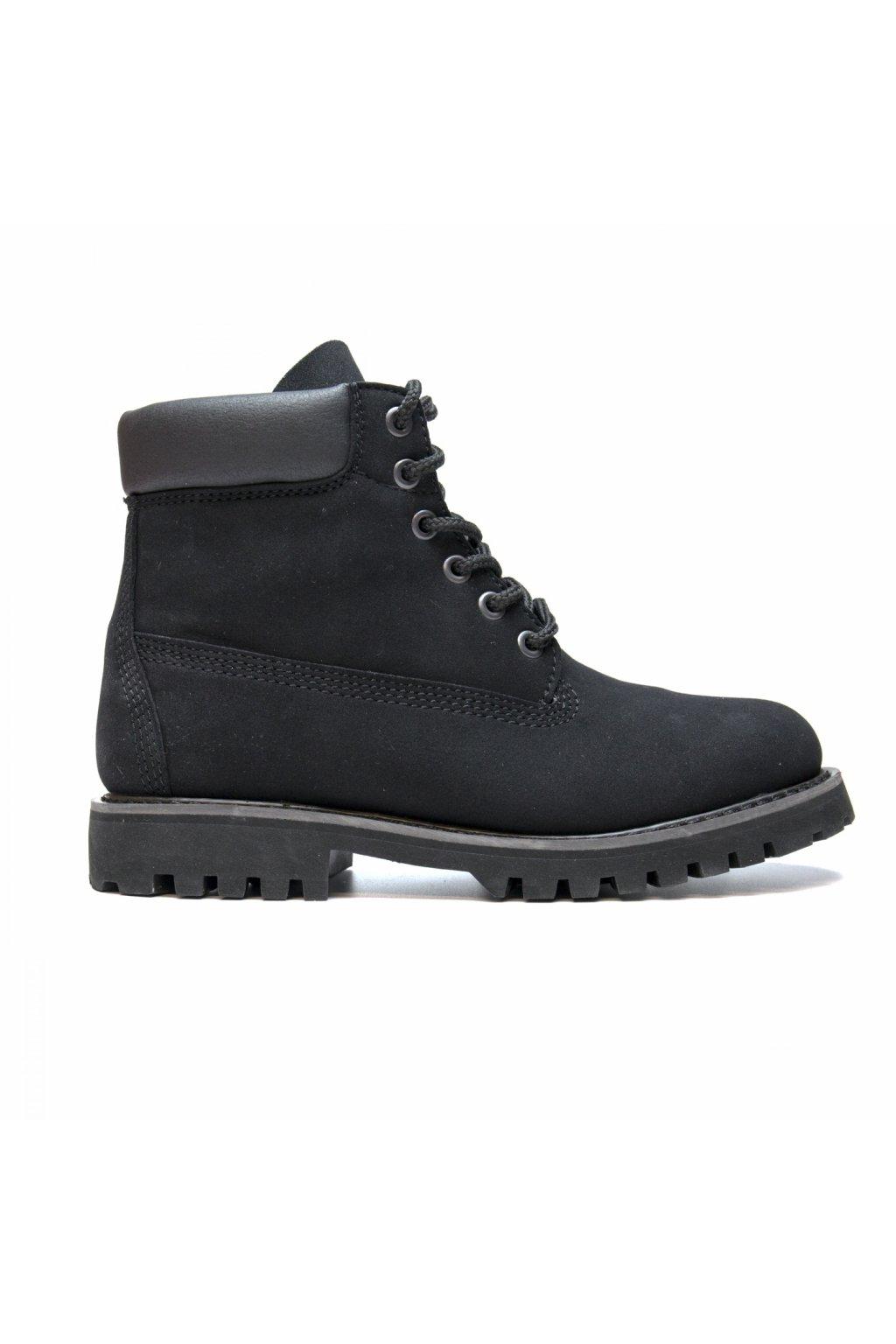 "Ručne šité čierne členkové topánky ""Etna Black"""