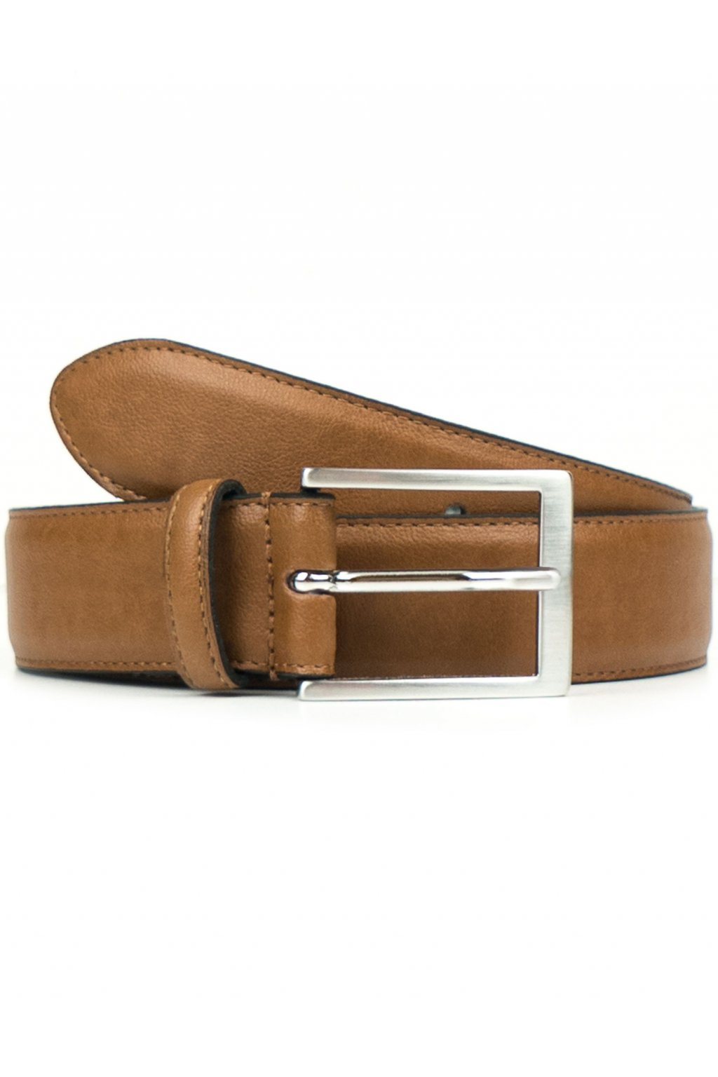 "Bledohnedý opasok ""Classic 3,5cm Belt Tan"""