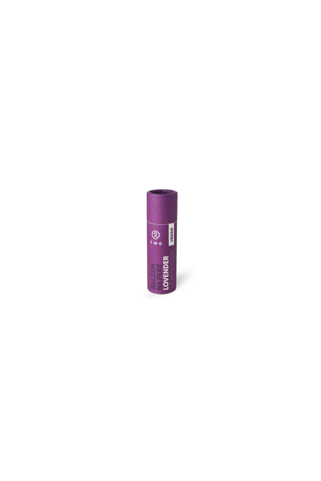 10343 two cosmetics balzam na rty v tycince lovender levandule 10 g