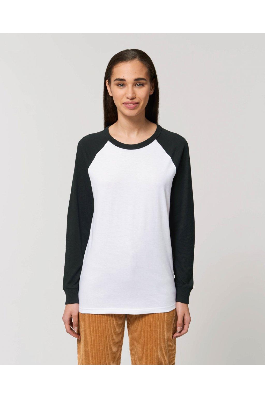 Catcher Long Sleeve White Black Studio Front Main 5