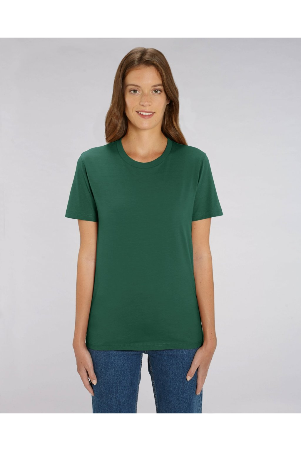 "Unisex tričko ""Creator"" tmavě zelené (Barva Tmavě zelená ""Bottle Green"", Velikost L)"