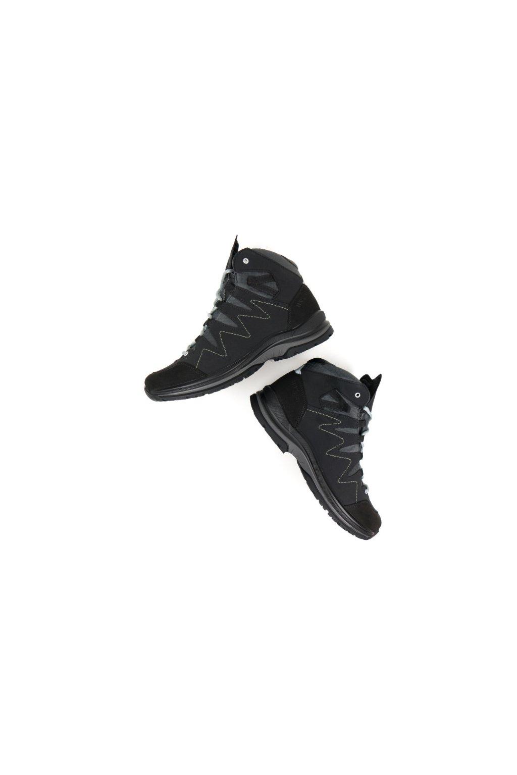 """WVSport Čierne vodotesné členkové topánky """"Waterproof Walking Boots"""""""