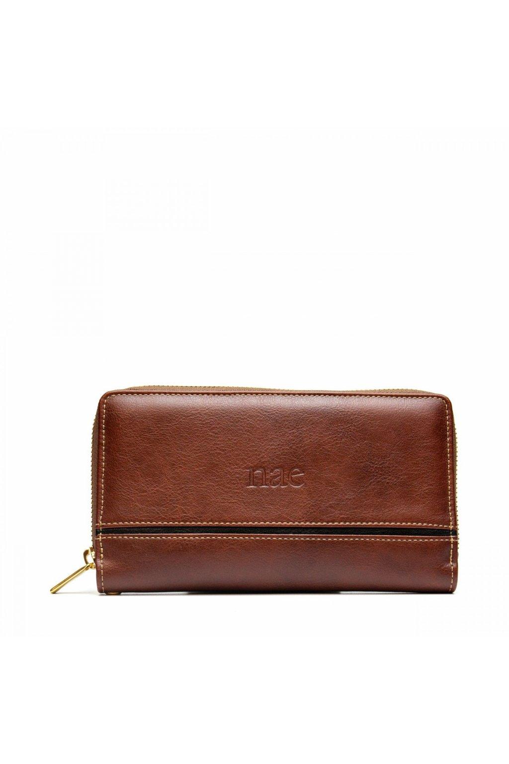 """Dámska hnedá peňaženka """"Mia"""""""