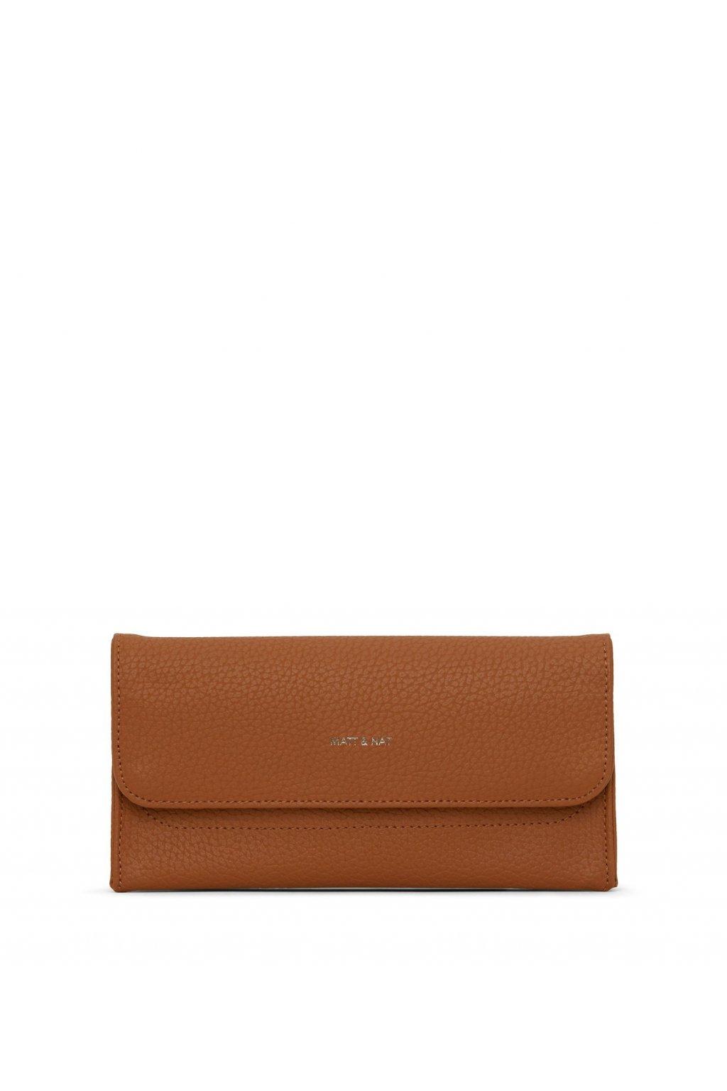 "Dámska oranžová peňaženka ""NIKI carotene"" - kolekcia Purity"