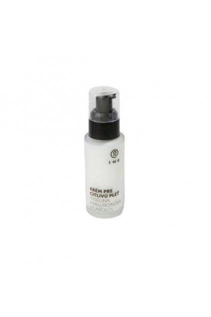 Two Cosmetics Krém pre citlivú pleť 50ml (s kyselinou hyalurónovou a bisabololom)