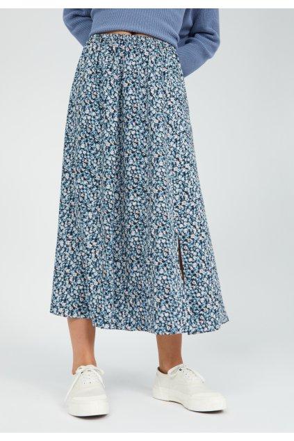 """Dámska vzorovaná sukňa """"KATINKAA PRIMROSE foggy blue"""""""